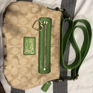 Signature Coach crossbody bag